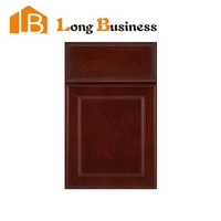LB-DD1096 American style kitchen cabinet birch wood drawer face and door panel