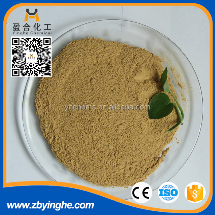 hot sale Calcium Lignosulfonate as water reducer from china