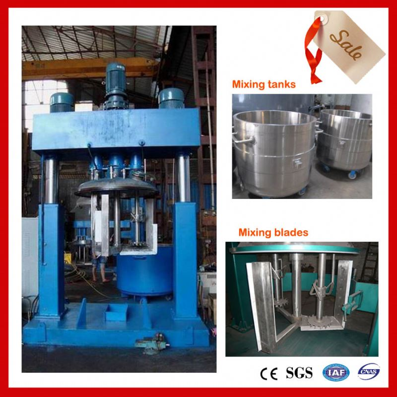 machine for acid silicone sealant production mach