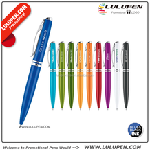 Customized Brilliant Stainless Steel Ballpoint Pen (T441333) Promotional Metal Twist Pens
