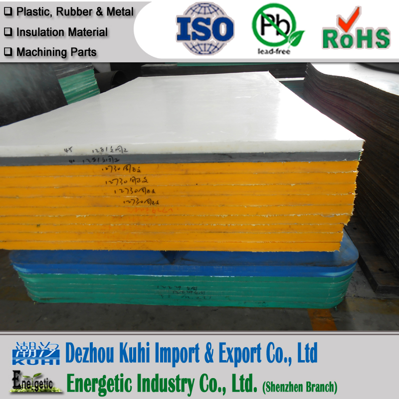 Good sliding UHMWPE pannel truck bed liner for mining
