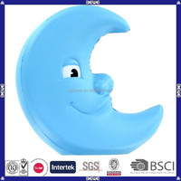 Hot selling manufacture promotional pu foam toy/ pu moon