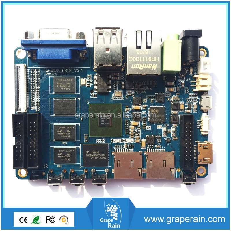 Cortex A53 Octa Core Processor IoT Module Arm Based Board