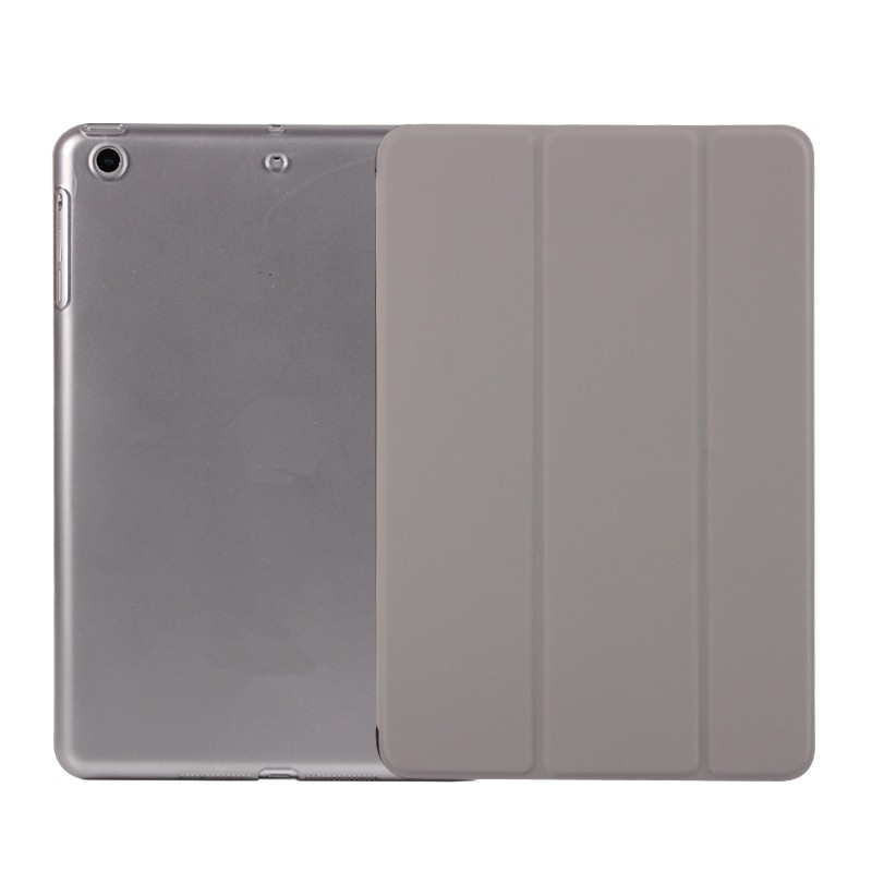 Min Order 1pcs 3 Folder Stand PU Case PC Back Cover Smart Leather Case For iPad mini 2 mini 3