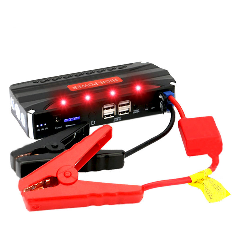 auto emergency 12v car charger jump starter multi-function to charge mobile and car battery