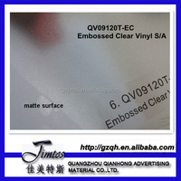 embossed clear pvc self adhesive car vinyl roof