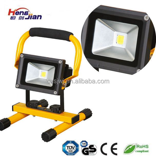 Rechargeable Floodlights , Battery Powered Portable Floodlight 10W/20W/30W Rechargeable LED Flood Light
