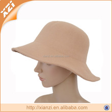 tan color party and outdoor ladies church hat wholesale for woman