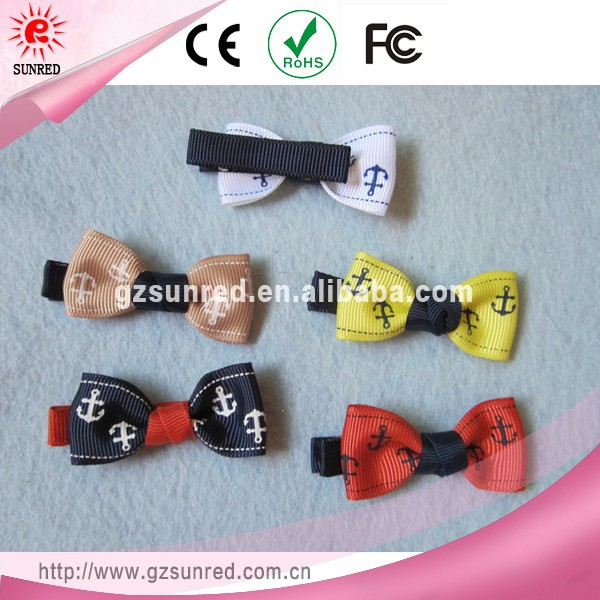 Customer decide package decorative flat fancy hair clips