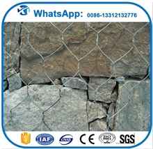Hot selling home depot wire mesh gabions 10 gauge 5x5 gi galvanized steel welded mesh with CE certificate