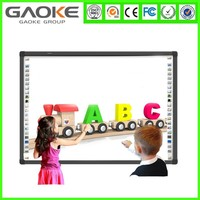 China Cheap USB 10 Points Infrared Interactive Whiteboard 82 inch
