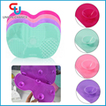 Hot Sale Wholesale Brush Cleaning Tools Silicone Cosmetic Makeup Brushes Cleaner