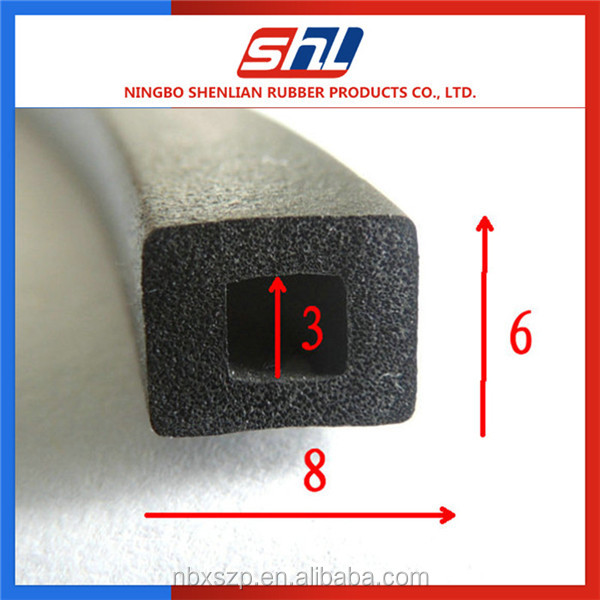 Rubber Seal EPDM Extrusion rubber seals for garage doors