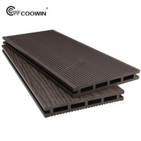 exterior weather proof WPC composite decking board price