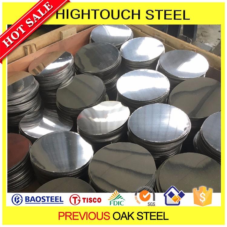 Esportazione india ba finitura in acciaio inox 201 cerchio for Prezzo acciaio inox al kg