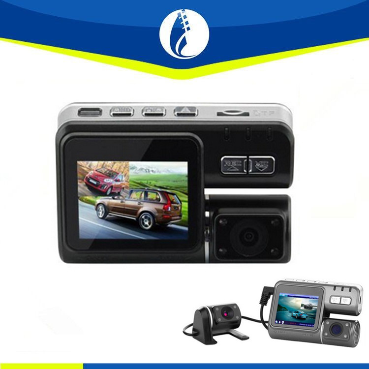 Full HD 1080p Car Dvr Dual Camera 2 Dual Lens Dash Cam WR-1000 For Vehicle Video Recorder