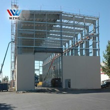 Q345 low carbon structure steel fabrication,prefabricated steel structure building