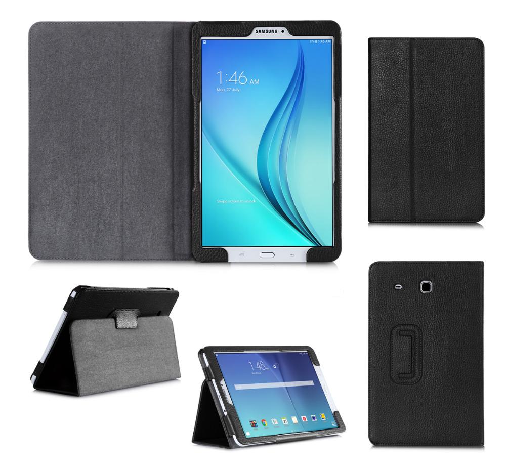 shockproof for samsung galaxy tablet tab e t561 leather. Black Bedroom Furniture Sets. Home Design Ideas