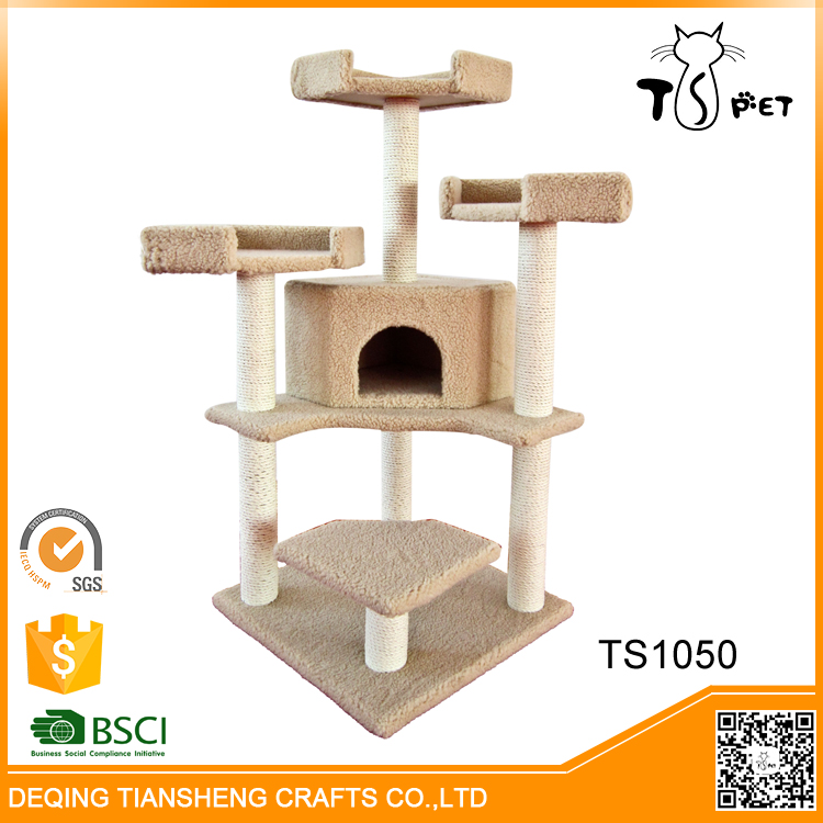 Factory Price High-end Smart Cat Tree House