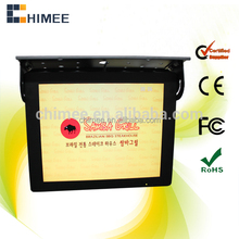 17 inch 3G wifi tft bus monitor lcd ad player network