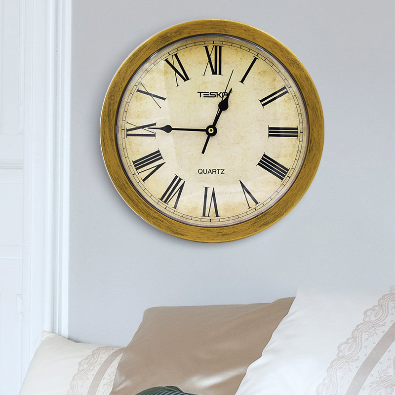10 inch Wall Clock with Hidden Space Safe Clock for Valuables