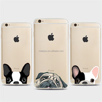 Phone cases cute animals head Soft TPU custom phone cases For iPhone 4 4S 5C