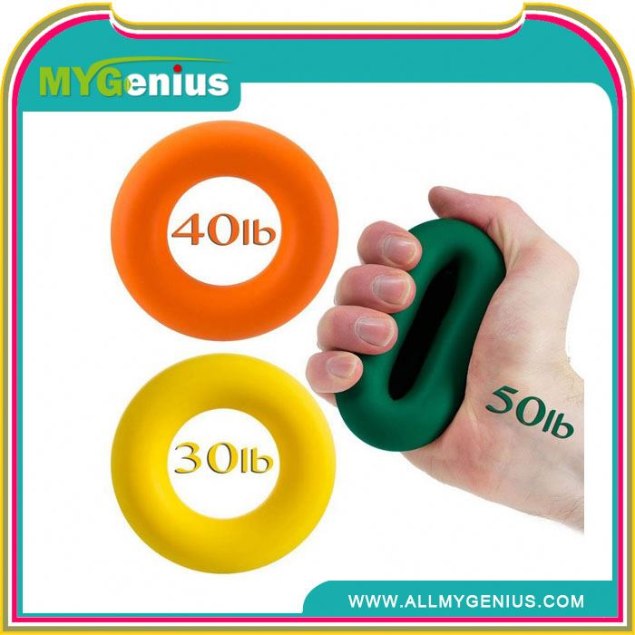 fitness silicone hand grips ,H0T054, grip strength circle