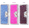 High Quality Handmade Bling Diamond Crystal Leather Case Cover for Samsung Galaxy S8/S8 Plus