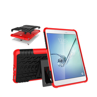 New Design Kickstand Mobile Phone Kid Proof Silicone Kids 7 Inch Tablet Case For Samsung Galaxy Tab T950s A8.0