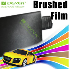 PVC material Brushed Black Vinyl Car Paint Protective Film,Car Stickers Wrap Full Body size 1.52*30m