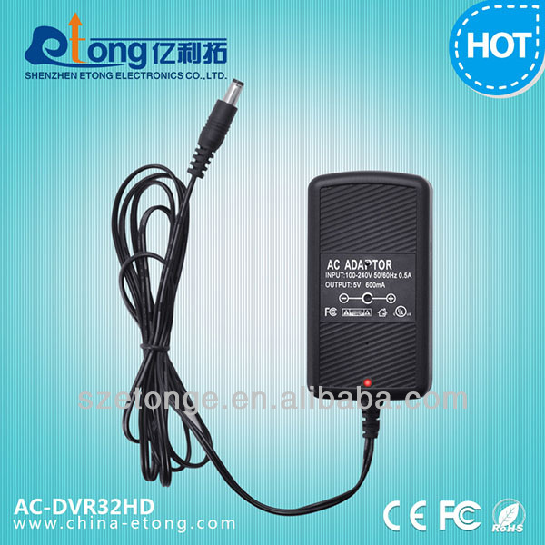 720x480 h.264 functional ac regular adapter hidden office camera