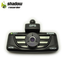 GT880s 2.7 inch car black box gps tracking with high quality dashcam 1080p night vision