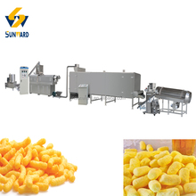 Easy Cleaning Puffed Corn Food Extruding Line Machinery