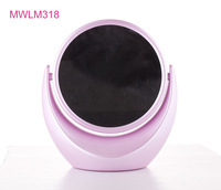 2016 the most hot selling new promotion gift household face beauty products plastic 2 way cosmetic mirror with magnifying
