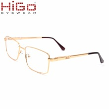 Wenzhou Factory 2018 New Metal Eye Glasses Gold Sliver Color High Quality Optical Frame