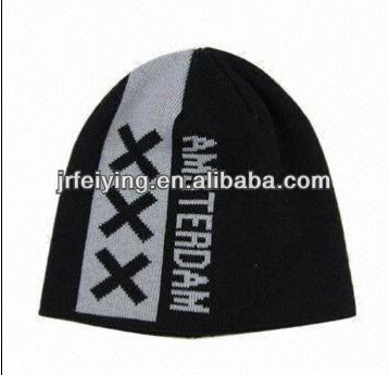 2013 fashion acrylic knit custom toque