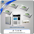 Multi Apartments Video Door Phone with RJ45 Ports