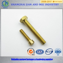 stainless steel hex bolt m45 plain fully thread a2 70 strength