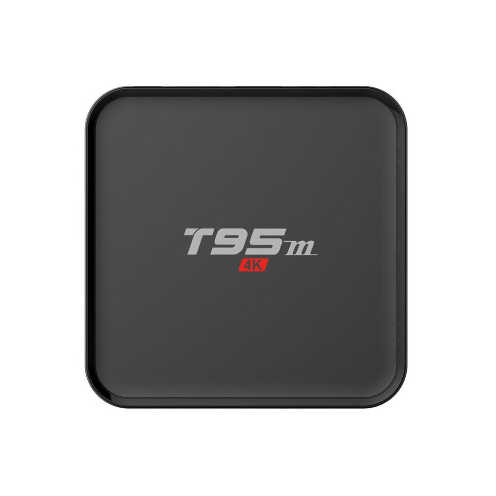 New T95m Android 7.1 TV Box Wireless WiFi 2G/8GB Amlogic S905X Quad Core 4K Smart TV Receivers 2.4G 5GHz Smart TV Box