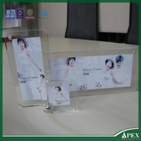 Magnetic promotion soft pvc photo frame