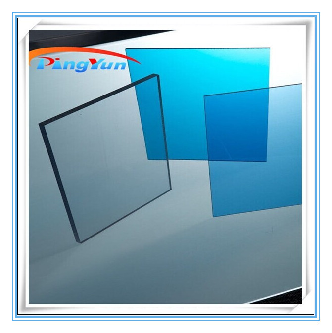 UV polycarbonate solid roof sheet/lexan polycarbonate roof sheet/pc sheet