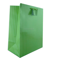For everyday hot dot and stripe paper bags with handle wholesale Chinese factory