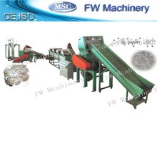 New condition pp pe film crushing washing line waste film recycling equipment plastic film recycled plant