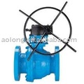 Gear Actuator Float Ball Valve