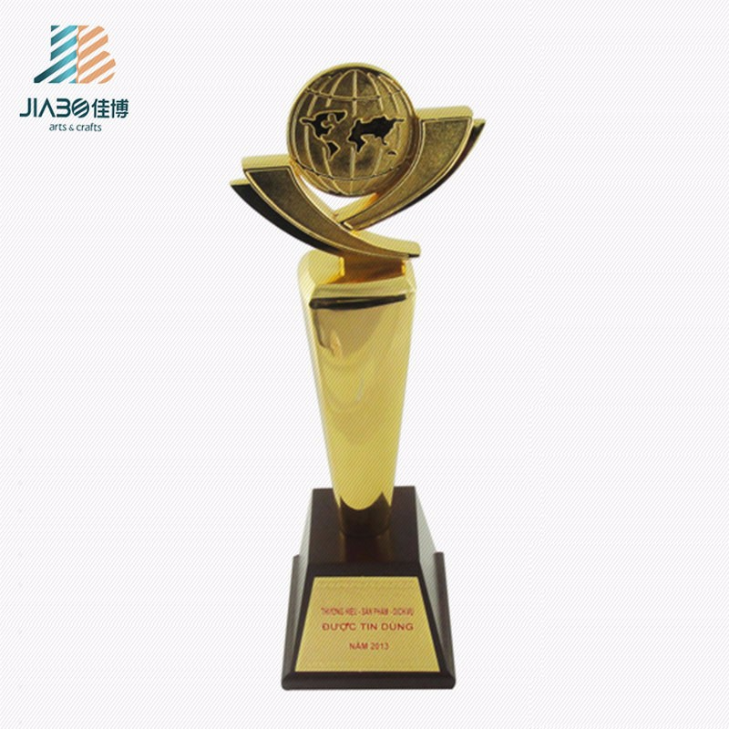 high quality sport event useful high-end metal trophy cup trophies