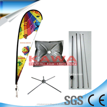 The most popular advertising bowed feather flag