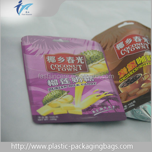 wholesale China promotional stand up pouch