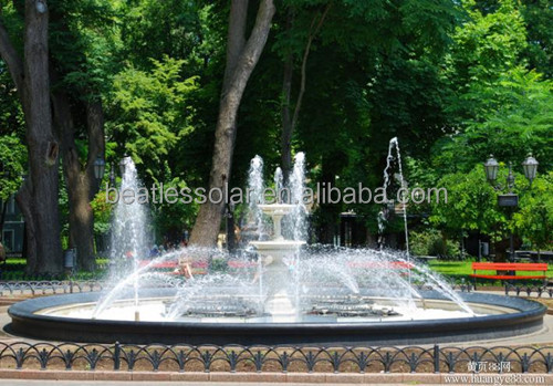Solar Water Fountain Pump With Solar Pump Inverter Three Phase