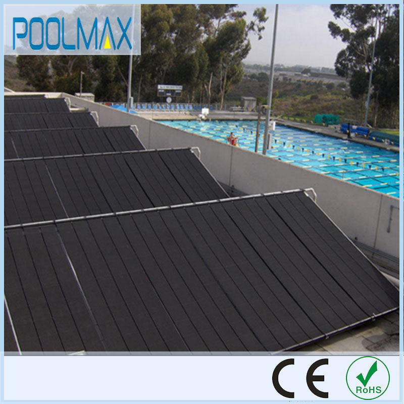 Black PP plastic heating solar pool made in china solar pool