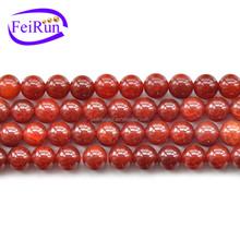 FEIRUN 6-14mm good quality and cheap price agate stone beads, red agate, natural agate slices